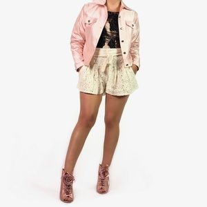 Anage Too Silk Pink Jacket TPIB
